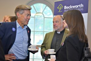 Ben Bradshaw at Southernhay Breakfast Club