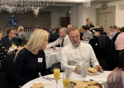 Robert chalk breakfast club networking
