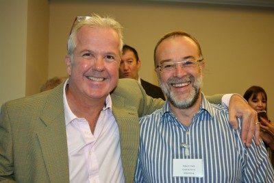 Damian Cook and Robert Chalk