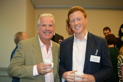 Damian Cook and Tom Vantreen