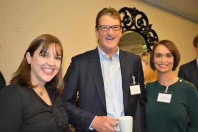 Kim McDonald, Peter Slater and Dana Mulligan