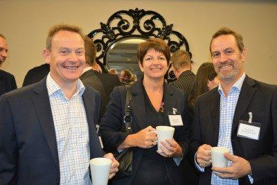 Mike Hart, Debbie Bunclark, David George