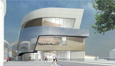 Planned new Exeter Leisure Centre
